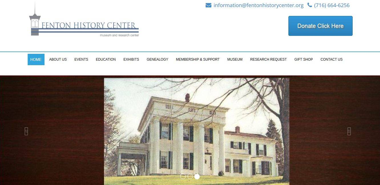 History Archives Website Design