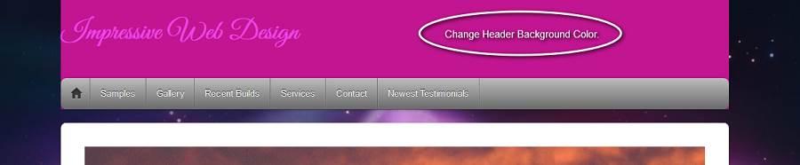 Change Header Background Color-70