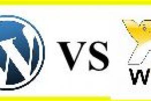 wix vs WP