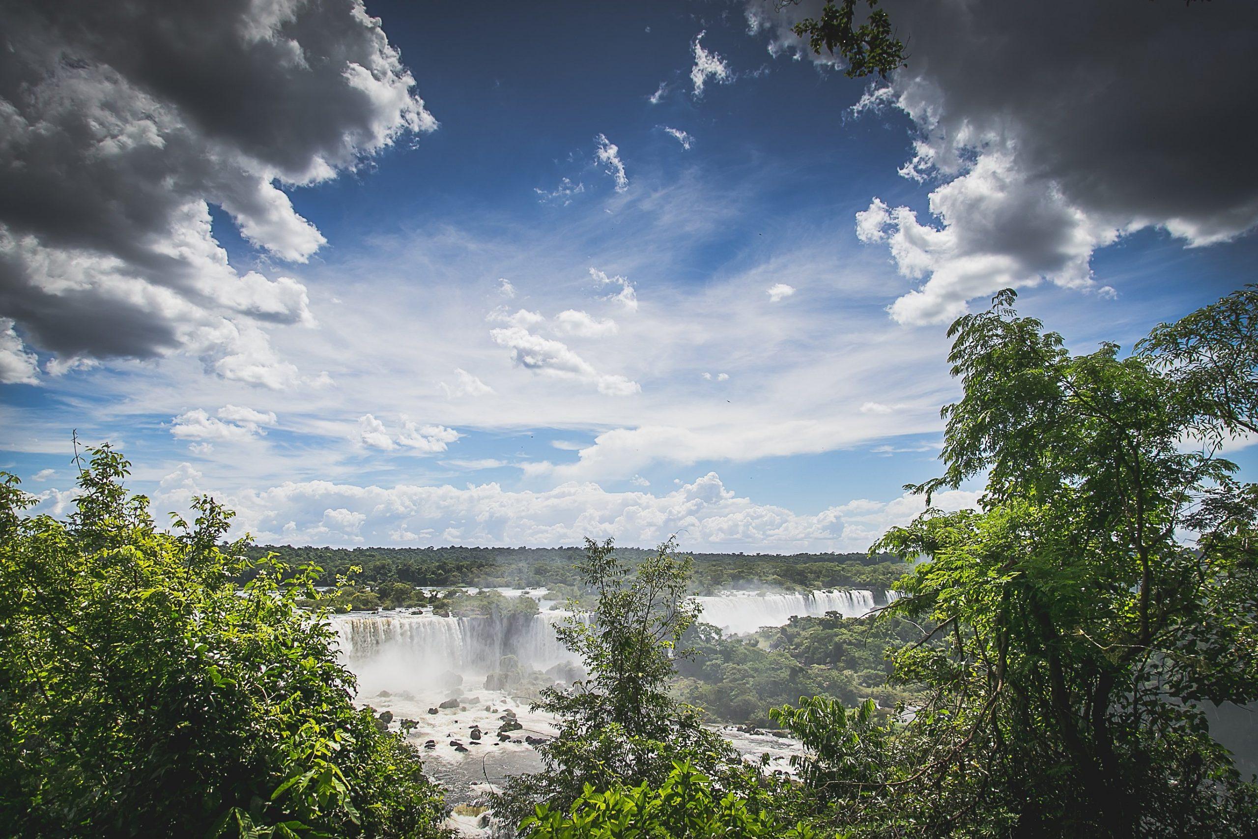 Waterfalls Sky