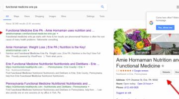 1st 3 spots Google Search.
