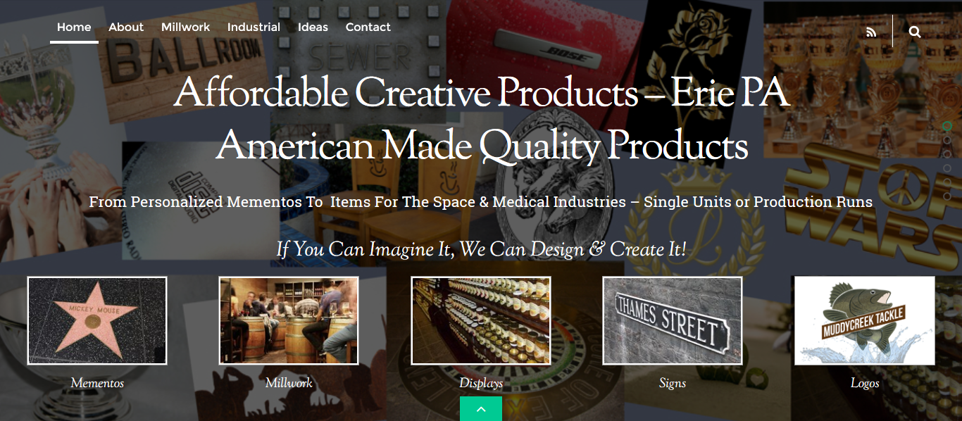 Industrial Sales Website Design