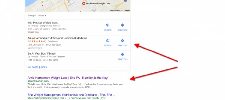 1st Google Search