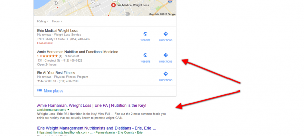 1st Google Search 1