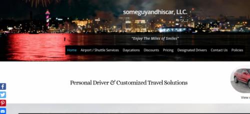 Cruise Ship Website Design
