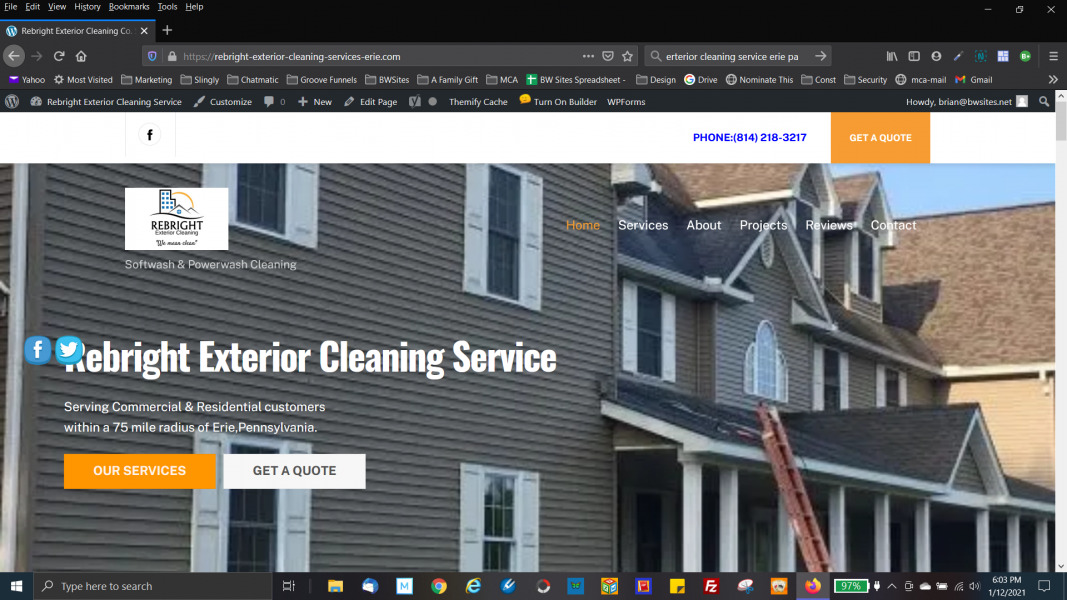 Another website design by BW Sites